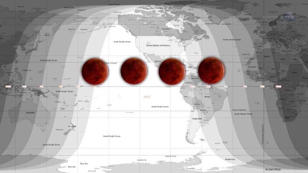 Blood Moon and Lunar Tetrads