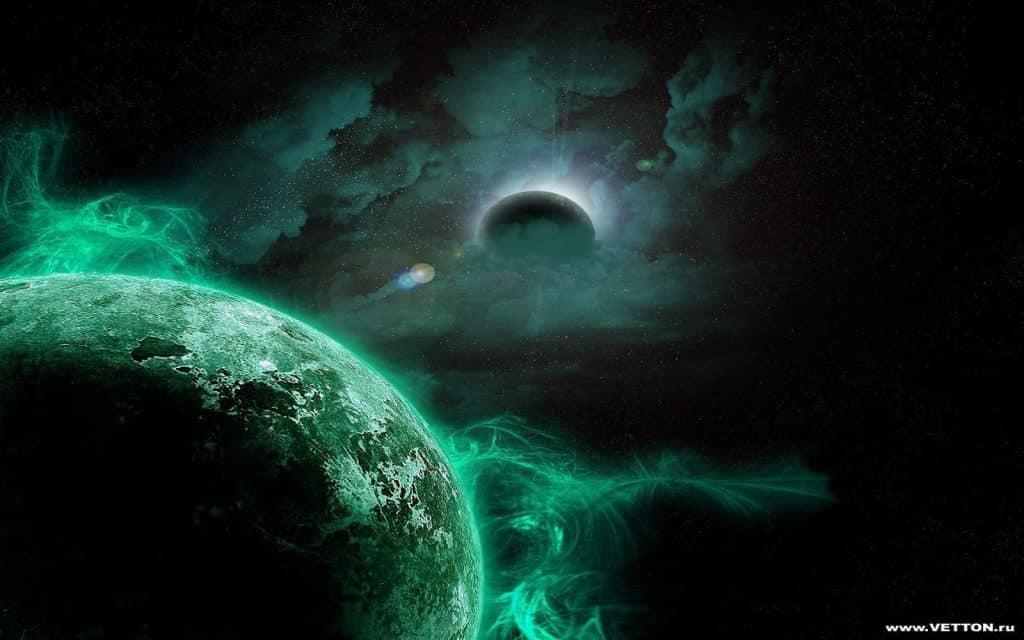 Dark Green Aura